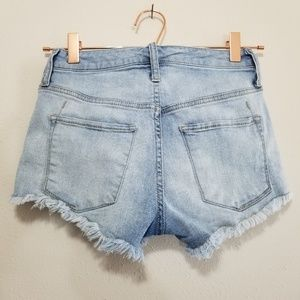 Mossimo Supply Co. Shorts - Mossimo denim embroidered high rise short (f)